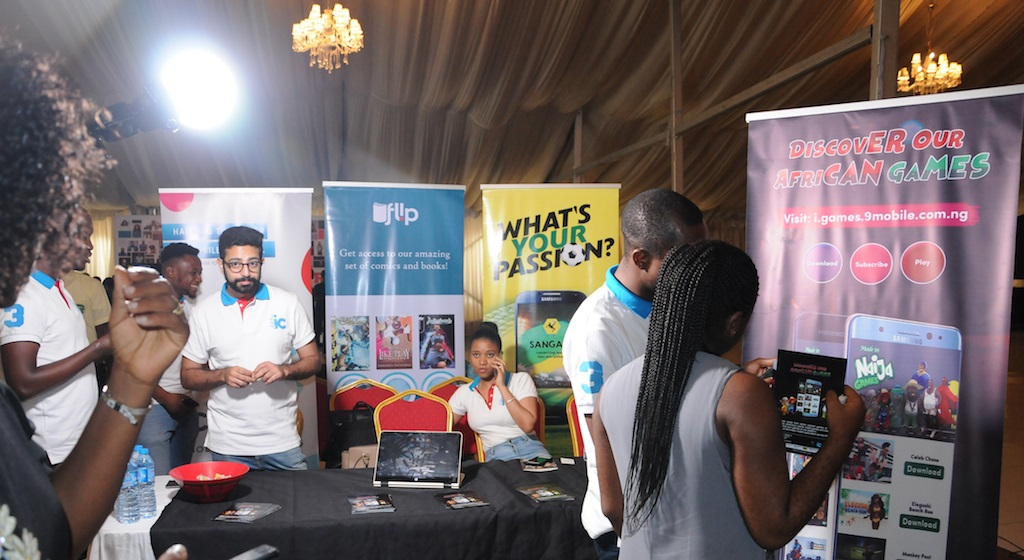 IConcepts Exhibits at the west african gaming expo